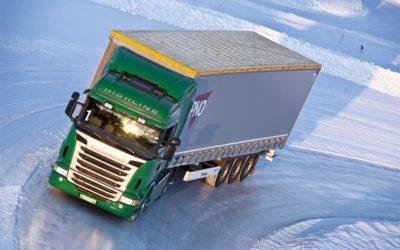 Lastbilar behöver bättre vinterdäck