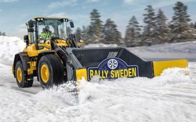Bygger arena för Svenska Rallyt
