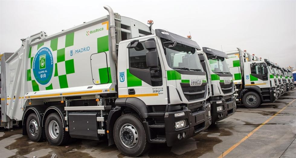 Kommunfullmäktige i Madrid har utökat sin park med 109 Iveco Stralis-fordon som går på komprimerad naturgas (CNG) för insamling av kommunalt avfall i den spanska huvudstaden.