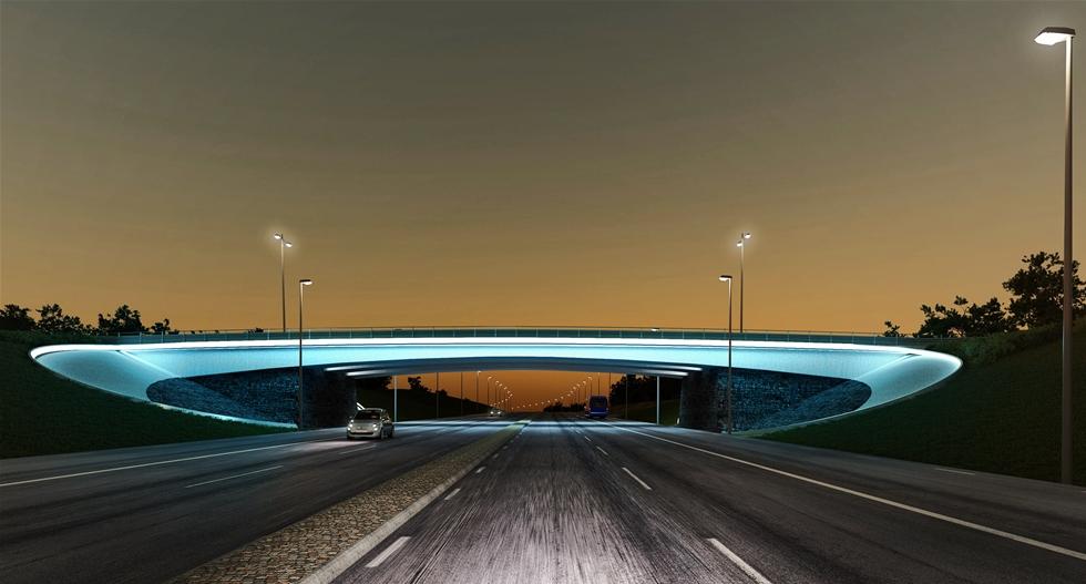 Med en ökande trafikmängd till Göteborg Landvetter Airport behöver infrastrukturen i området utvecklas. Nu har Svevia fått i uppdrag att bygga en bro som i sin placering och form också blir en ny port till flygplatsen. – Det är extra kul att Svevia ska bygga det som blir porten till flygplatsen och en viktig del i utvecklingen för hela området. Vi känner oss inspirerade. Det skall bli roligt att förverkliga en betydande del i Swedavias planer för nya Göteborg Landvetter Airport. säger Anna-Karin Wärn, arbetschef i Svevia.