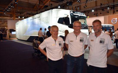 Volvo visade två vinnarvagnar