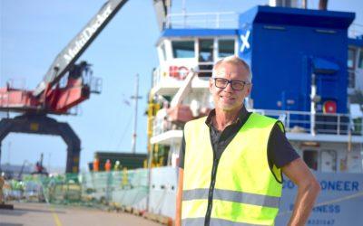 Största exporthamnen får nytt utseende