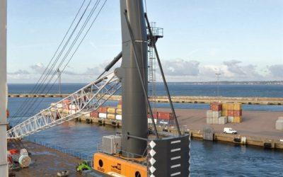 Ny containerkran i Helsingborg