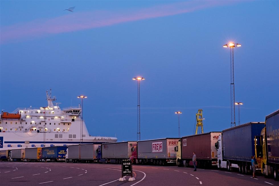 Trellborgs hamn är Skandinaviens största ro-ro-hamn. – Nu siktar vi på att bli bäst i världen, säger Jörgen Nilsson, vd, inför den enorma miljardsatsningen.