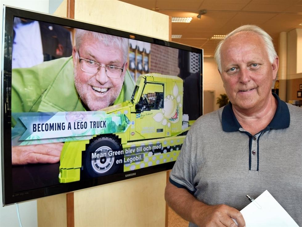 Lennart Langervik var med att bygga Mean Green. – Vi skulle göra något nytt för framtiden. Något som satte miljön i centrum. Men inte bara för att göra en hybrid utan också för att göra något kul, säger han.
