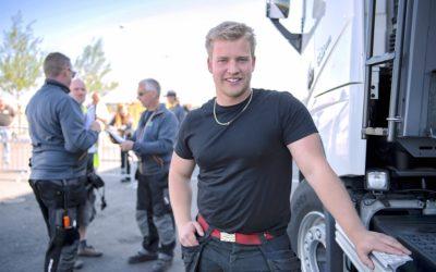 Oskar tog hem segern i Yrkes-SM