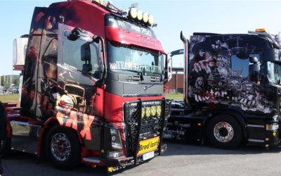 Win-win-effekt av Truck Meet och Load up North