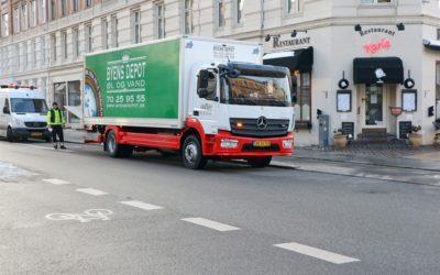 Mercedes-Benz Atego 1524 håller toppklass