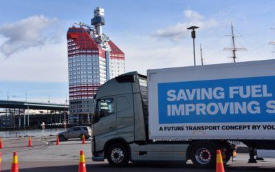 Platooning och autonoma fordon är framtiden