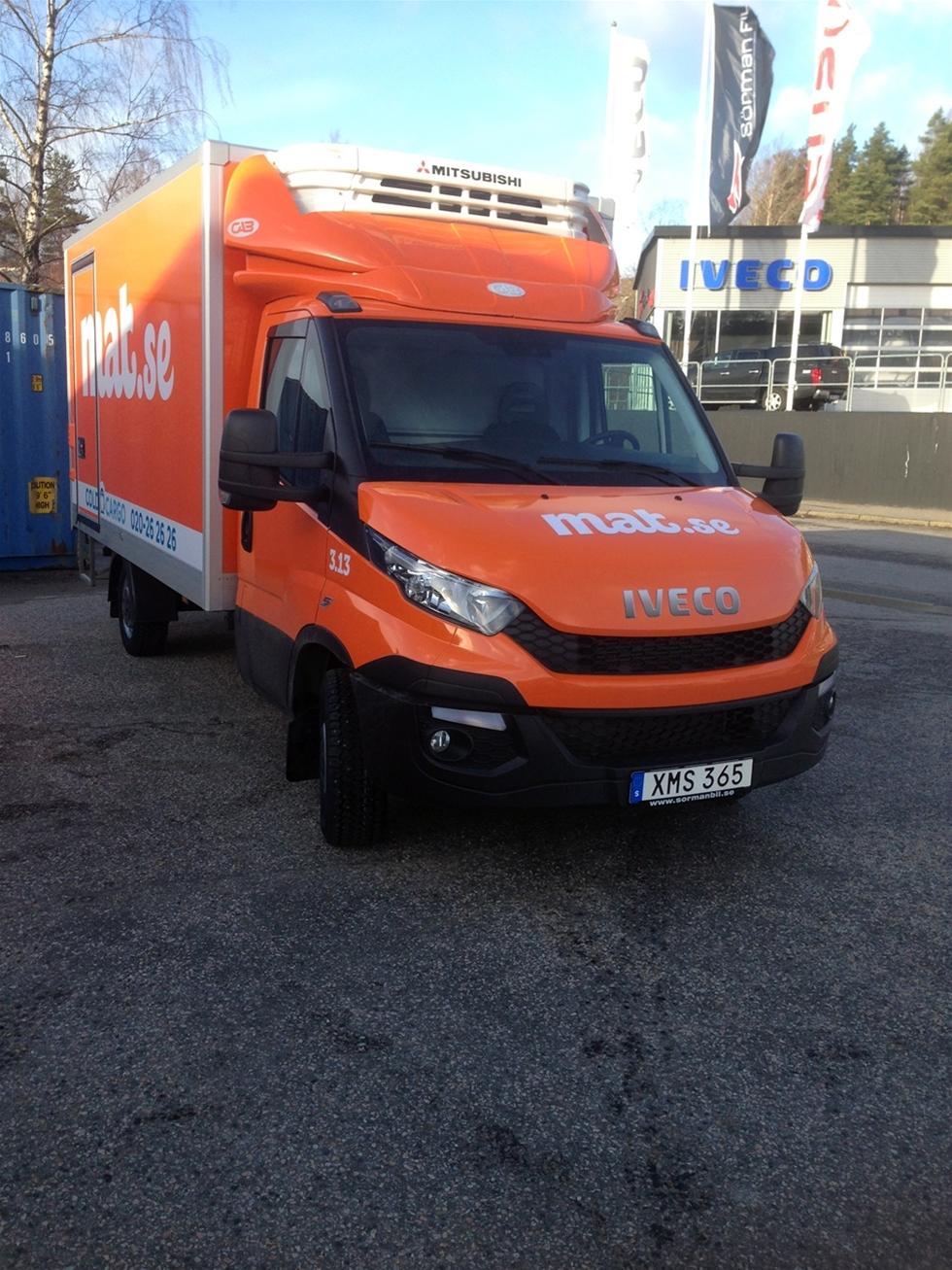 Cold Cargo Sweden AB fortsätter att köpa Iveco Daily. Företaget har nu tecknat avtal om köp av 56 stycken nya skåp och liftbilar, vilket innebär att man efter leverans har totalt 107 stycken Iveco Daily i sin vagnpark.