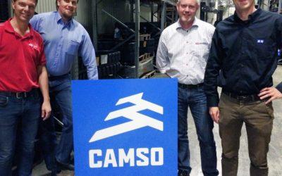 Häggblom säljer Camso larver