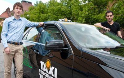 Skingrar bilköerna med mobilen