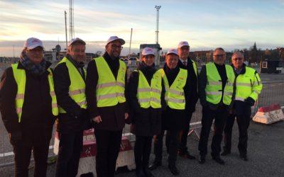 Danskar på besök i hamnen