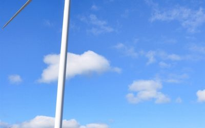 Turbine cowboys jobbar på svindlande höjder