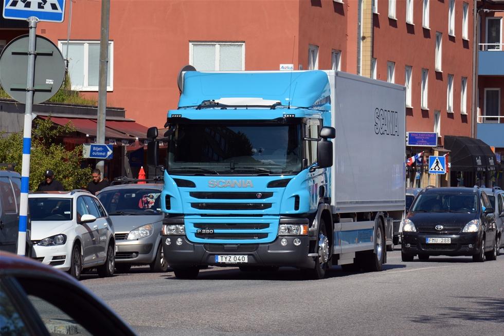 I stadsmiljöer har det blivit vanligt med gasdrift av bussar. Även bland renhållningsfordon har gasdrift gjort sitt tydliga intåg. Med tvåaxlade P 280 visar Scania att komprimerad gas, CNG, är ett högintressant alternativ också för distributionsbilar. Bilen förenar hög lastkapacitet med utmärkt komfort och körbarhet. Därtill uppenbara miljöfördelar.