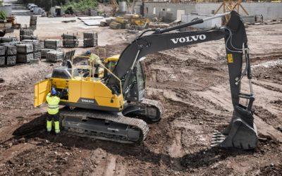 Volvo CE förbättrar effektiviteten