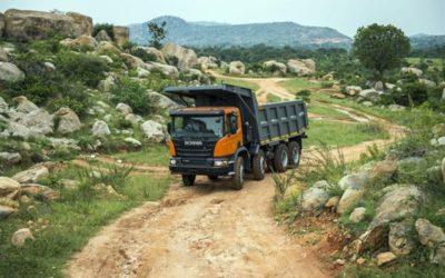Scania levererar 200 tippbilar till Indien