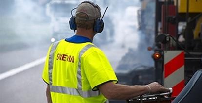 Med vägförstärkningsarbete ska Svevia förbättra standarden på väg 360 mellan Risträsk och Norrbäck.