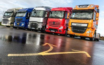 500-poängstesten – Fem lastbilar med ekonomihytter under lupp
