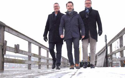 Lägger ut kursen för fraktlinje via Göta Älv