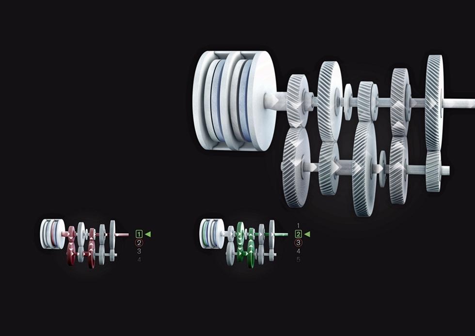 Volvo Trucks nya I-Shift DC är en så kallad  Dubbelkopplingsväxellåda av samma typ som Volkswagens DGS växellåda. Det  som kännetecknar dessa växellådor är att motorkraften har två  ingångsaxlar som därefter fördelas till var sin halva av växellådan. Den  ena skiftar 1, 3 och 5 växlar medan den andra skiftar 2, 4 och 6  växlar.