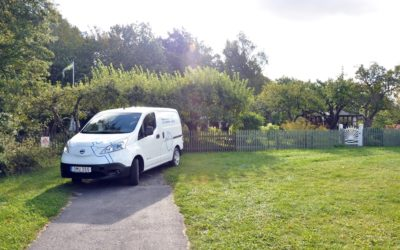 Elbilsversion av Nissan NV 200