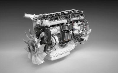Ny 450-motor efterbehandlar med SCR