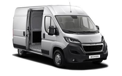 Peugeot visar sin nya version av Boxer