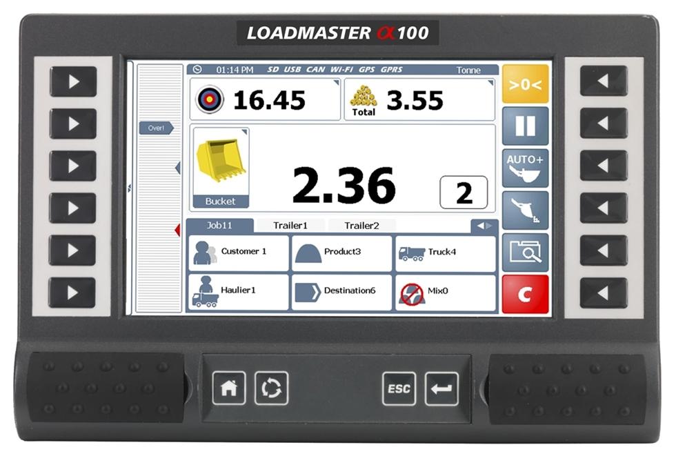 Loadmaster Alpha 100 är ett helt nytt vågsystem för hjullastare. Systemet har alla funktioner som behövs för att jobba så effektivt som möjligt. Lanseringen sker på MaskinExpo, där systemet presenteras av Skandinaviska Teknik & Smörjsystem.