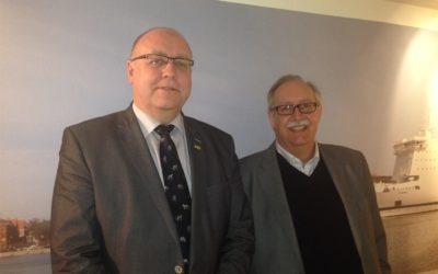 Dansk politiker uppmärksammar Ystad Hamn