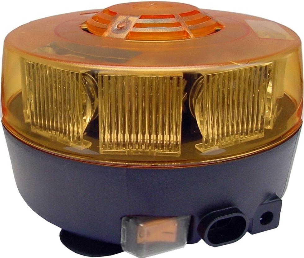 Varningsljuset LM300 Sputnik har uppladdningsbara batterier och högintensiva lågeffektslysdioder. Fulladdade batterier ger en drifttid på upp till två timmar. LM300 laddas i fordonet via 12 V ciguttag.