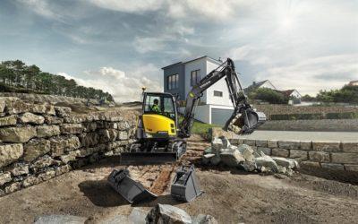 Volvos nya ECR50D har rätta kraften