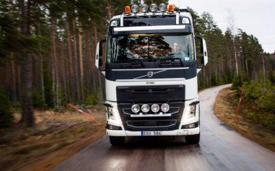 Färre arbetsskador med Volvos styrning