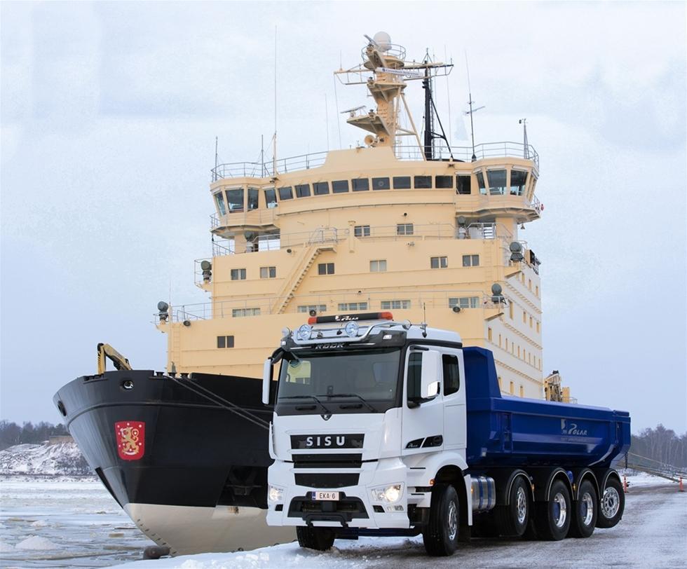 Det  är svårt att föreställa sig hur en liten lastbilstillverkare som Sisu  skulle kunna klara det stora teknologisprånget från Euro 5 till Euro 6,  som  i extremfall innefattar både ny motorteknologi och nya förarhytter. Men med stor hjälp från Daimler AG kan Sisu redan från denna vår  erbjuda de första nya Euro 6-lastbilarna i den nya Sisu Polar  lastbilsserien.