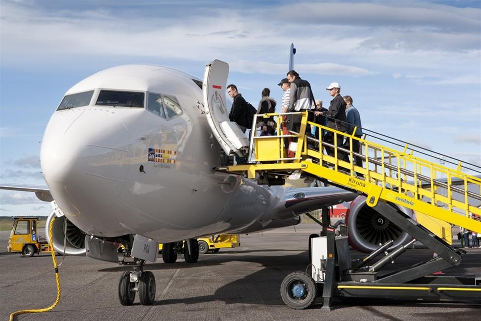 41 924 000 personer reste till eller från Swedavias tio flygplatser under 2017. Rekordantalet är en ökning med sex procent jämfört med 2016.