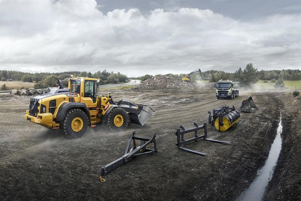 Volvo Construction Equipment har lanserat hjullastarna L110H, L120H, L150H, L180H, L180H High-Lift och L220H, utrustade med mängder av uppgraderade funktioner som ger kortare cykeltider och upp till 20 procent bättre bränsleekonomi.