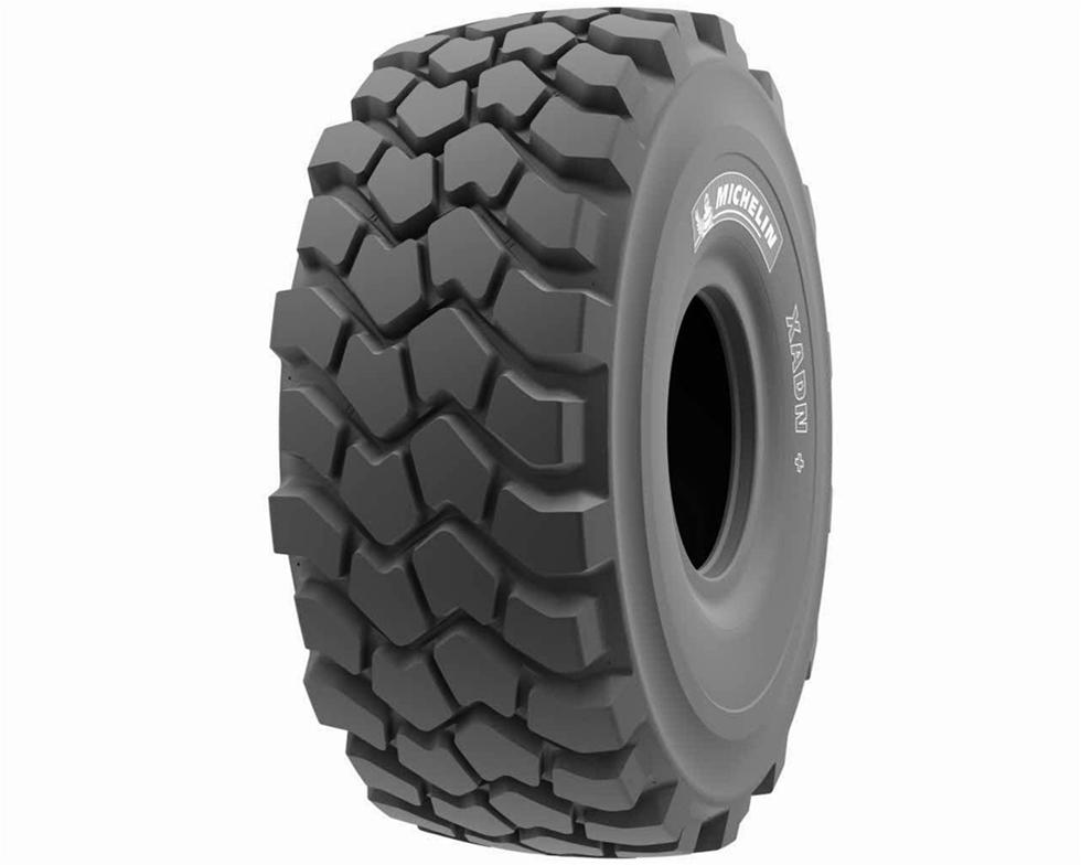 Ett år efter lanseringen av det populära 29,5R25Michelin XADN+ avsett för midjestyrda dumprar lanserar Michelin XADN+ i två nya dimensioner, 23.5R25 och 26.5R25. Med de nya däcken kan Michelin erbjuda XADN+ till flera typer av midjestyrda dumprar.