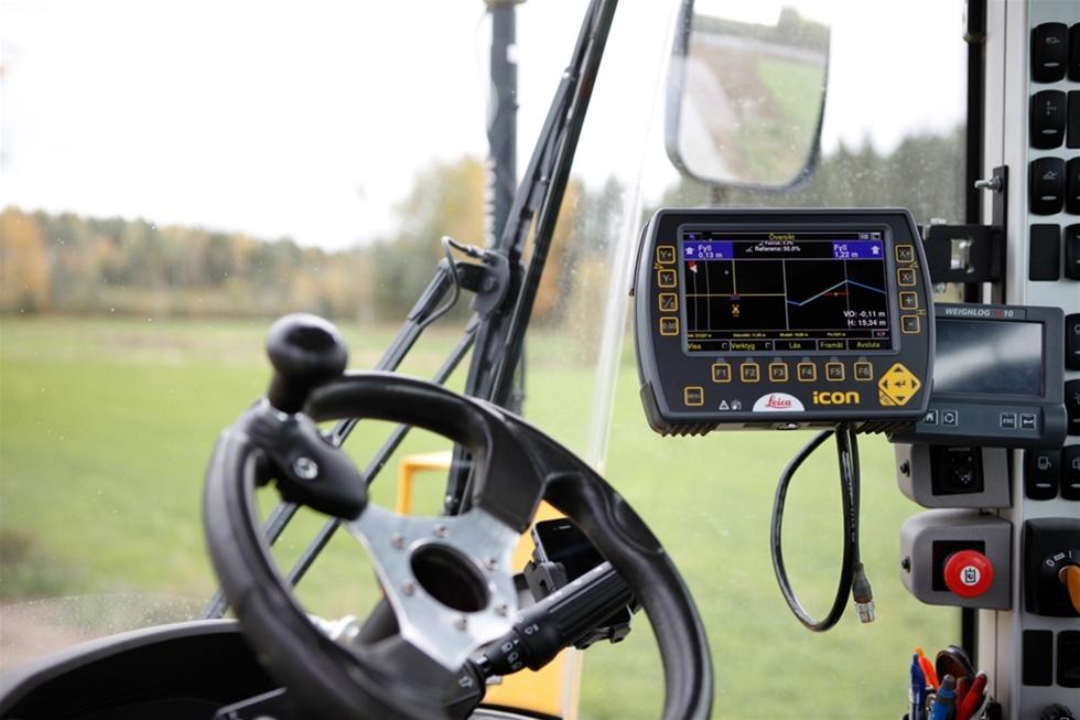 Med Scanlasers styrsystem för hjullastare, iCON Grade 3D, får användarna en mängd fördelar. Scanlasers lösning med dubbel-GPS ger konstant position på skopan. Hjullastarsystemet bygger på samma beprövade teknologi som Scanlasers system för grävmaskiner och garanterar hög precision och lång livslängd.