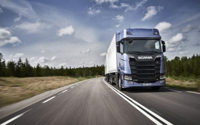 Elektriskt avtal Scania och Northvolt
