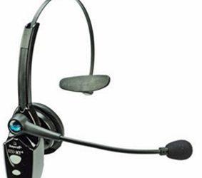 Trådlöst headset för bullrande miljöer