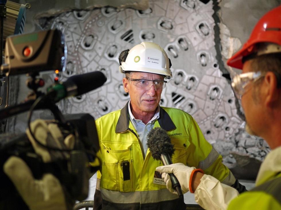 Per Rydberg genomförde det som fem projektledare före honom misslyckats med. Han lyckades få färdigt de två tunnelrören genom Hallandsås. – Ett fantastiskt lagarbete. De närmaste två åren ska vi bygga järnväg genom åsen, säger han.