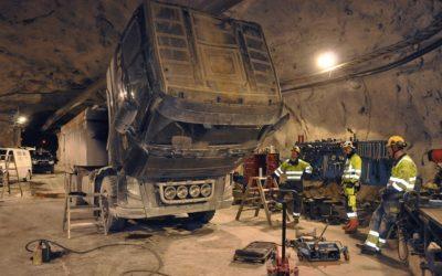 Precisionskörning i gruvmörker
