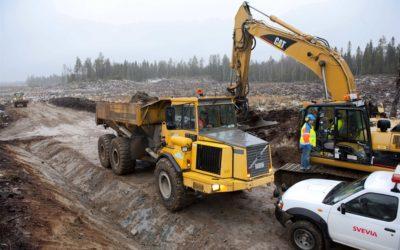 Starkare väg för gruvtransporter