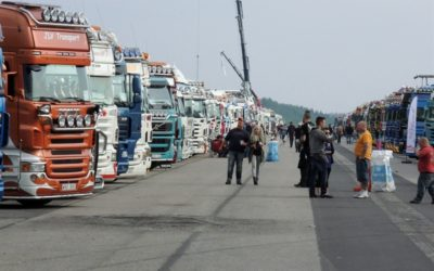Tvådagars lastbilsfest på Malmby Fairground