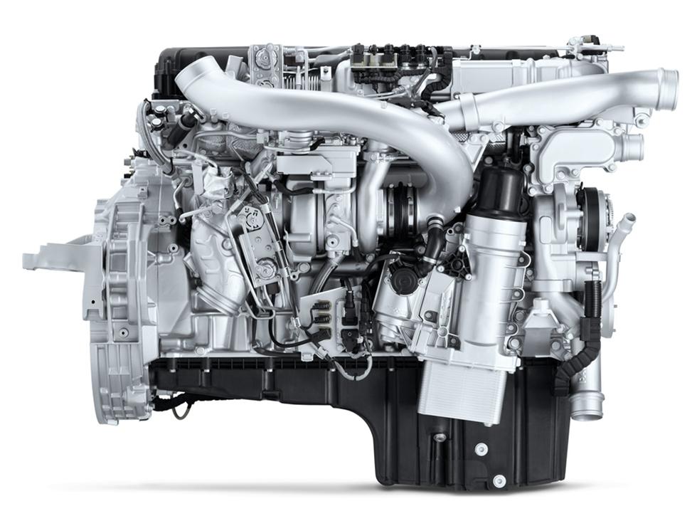Vi har länge misstänkt att DAF PR-motorn inte kommer att uppgraderas till Euro 6-standard. Och jodå, så blir det. Den byts nu helt enkelt ut mot en helt nykonstruerad 10,8 liters MX-11 Common Rail Euro 6-motor. Den kommer bli en mycket tuff konkurrent till storebror MX-13.