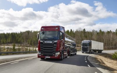 Ny generation V8 från Scania