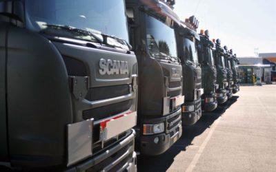 Levererar 81 Scania till försvaret