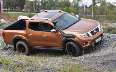 Nissan Navara AT-32 tar ny höjd