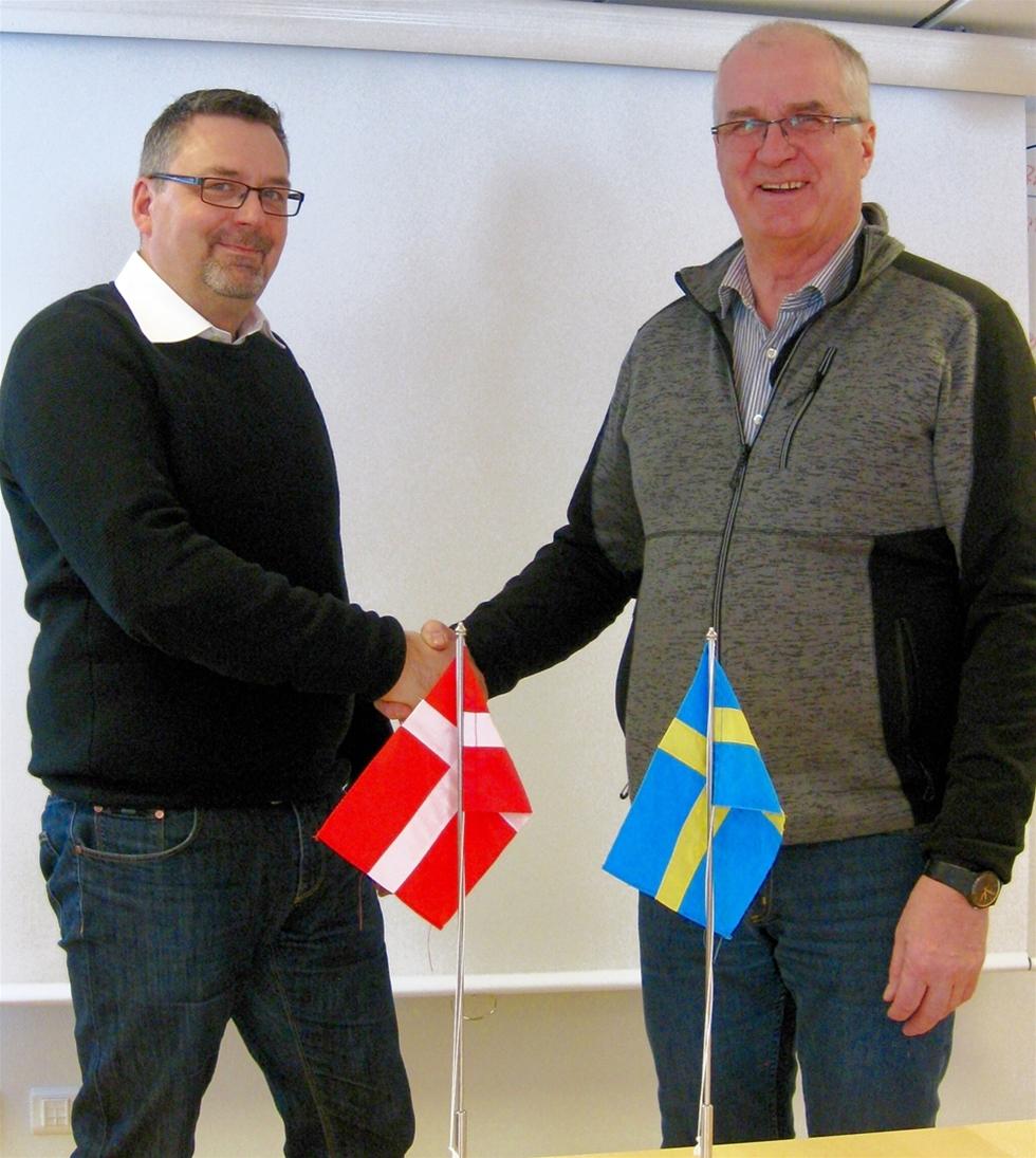 Cranab i Vindeln växlar upp i Danmark och inleder ett samarbete med Gersvang Maskiner ApS som från och med april blir ny återförsäljare för varumärket Slagkrafts vägröjningsmaskiner.