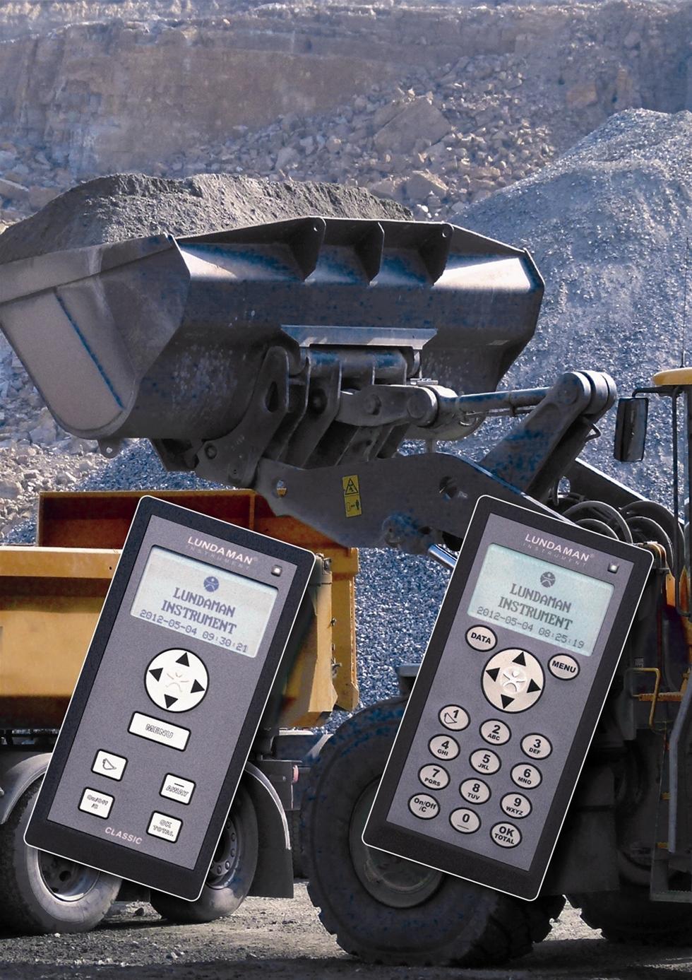 Populära hjullastarvågen Lundaman Professional har fått förbättrad tvåvägskommunikation, vilket underlättar kontakten mellan kontoret och vågen. Den uppdaterade vågen visas av Lundaman Instrument på årets MaskinExpo.